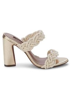 BCBG Max Azria Athena Braided Sandals