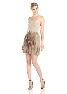 BCBG Max Azria BCBGMax Azria Women's Angel The Strapless Pleated Skirt Dress