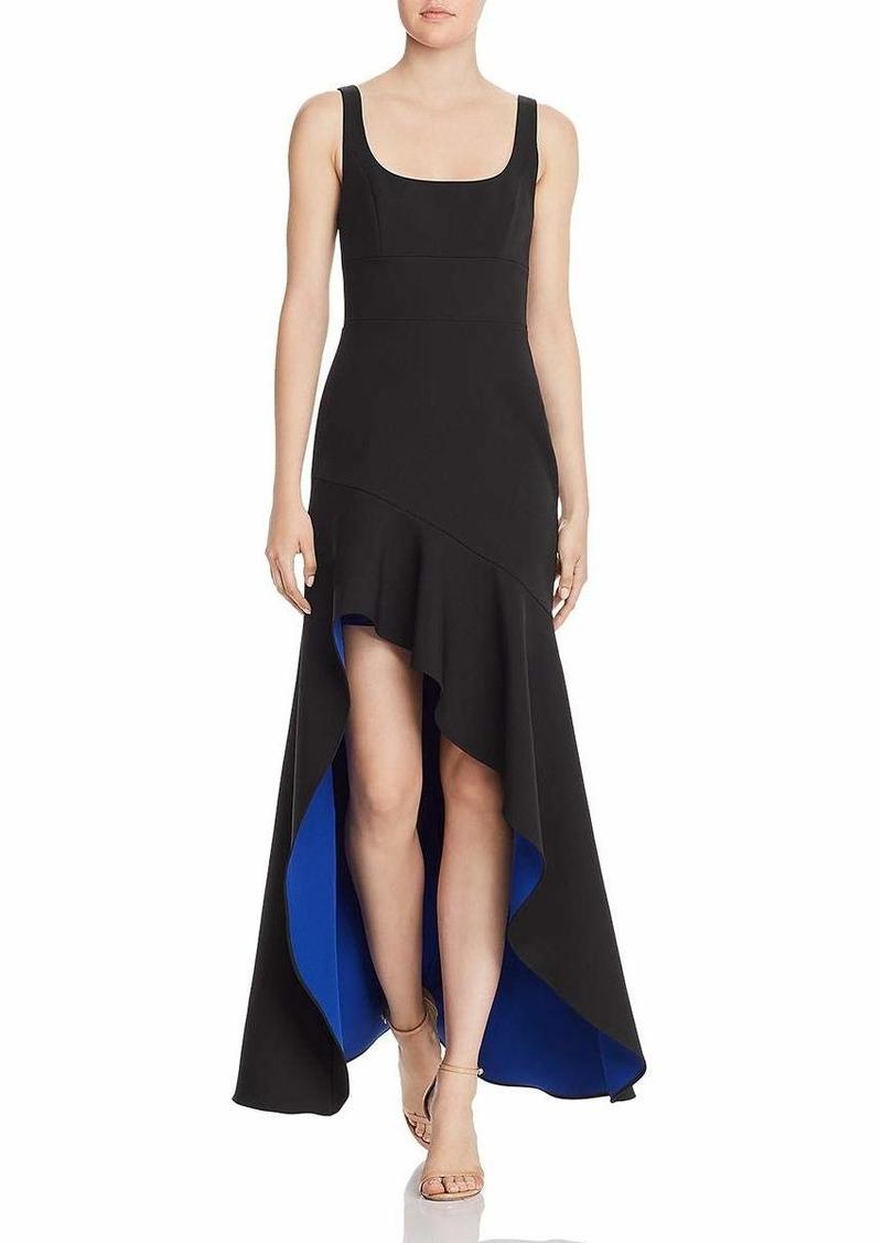BCBG Max Azria BCBGMax Azria Women's Asymmetric Flare Gown
