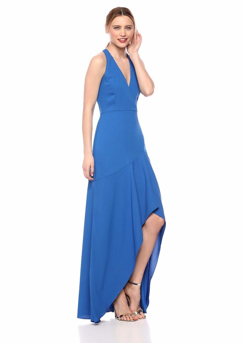 BCBG Max Azria BCBGMax Azria Women's Asymmetrical Crepe High-Low Gown