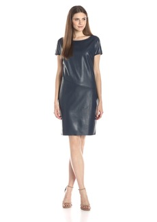BCBG Max Azria BCBGMax Azria Women's Babette Faux Leather Dress