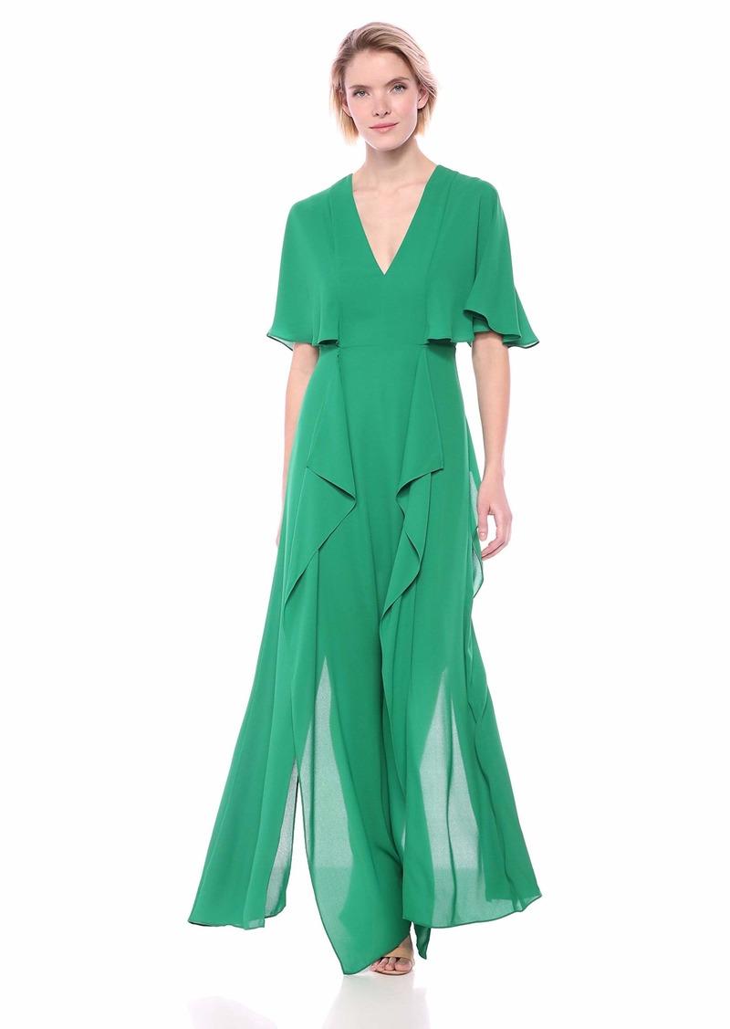BCBG Max Azria BCBGMax Azria Women's Cape Sleeve Maxi Dress