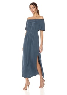 BCBG Max Azria BCBGMax Azria Women's CHARNET Knit Casual Dress VNTMDNT Teal L