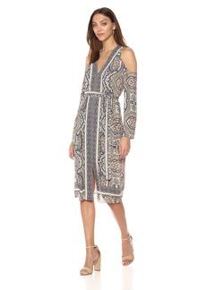 BCBG Max Azria BCBGMax Azria Women's Cindi Woven Casual Dress  L