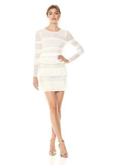 BCBG Max Azria BCBGMax Azria Women's Darin Floral Lace Dress