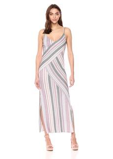 BCBG Max Azria BCBGMax Azria Women's Dayln Stripe Jacquard Maxi Dress  S