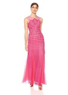 BCBG Max Azria BCBGMax Azria Women's Elinor Sleeveless Lace Gown
