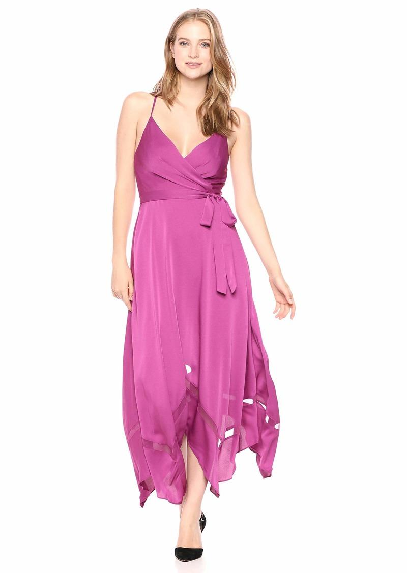 BCBG Max Azria BCBGMax Azria Women's Faux Wrap Handkerchief Dress