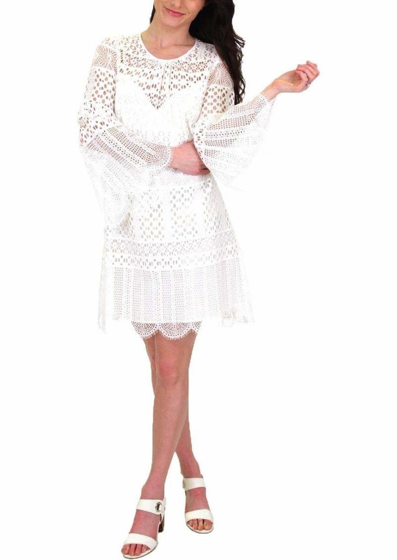 BCBG Max Azria BCBGMax Azria Women's Geo Lace A-Line Dress  S