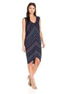 BCBG Max Azria BCBGMax Azria Women's Kerstin Zig Zag Knit Cocoon Dress  L