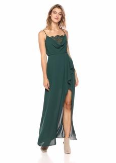 BCBG Max Azria BCBGMax Azria Women's Lace-Trimmed Blouson Gown
