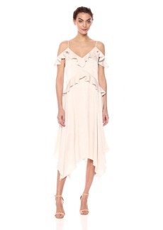BCBG Max Azria BCBGMax Azria Women's Lissa Asymmetrical Slip Dress  L