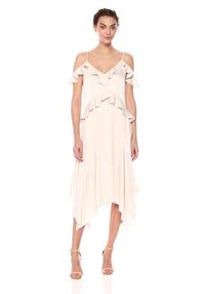 BCBG Max Azria BCBGMax Azria Women's Lissa Asymmetrical Slip Dress LTSTONE XS