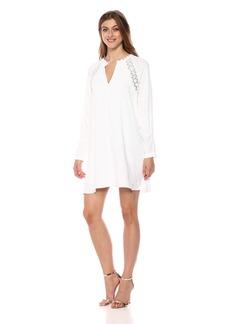 BCBG Max Azria BCBGMax Azria Women's Maja Lace-Insert Dress  S