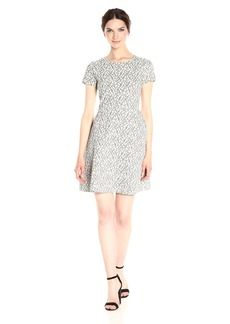 BCBG Max Azria BCBGMax Azria Women's Noreen Short Sleeve Knit City Dress  M