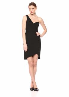 BCBG Max Azria BCBGMax Azria Women's One-Shoulder Mini Sheath Dress