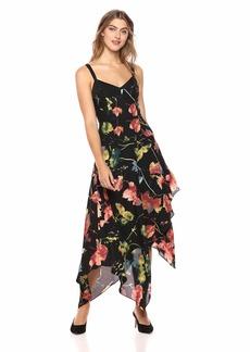 BCBG Max Azria BCBGMax Azria Women's Rustic Grove Asymmetrical Dress  L