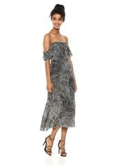 BCBG Max Azria BCBGMax Azria Women's Sahara Sands Off-The-Shoulder Maxi Dress