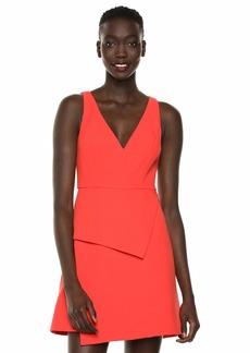 BCBG Max Azria BCBGMax Azria Women's Sleeveless Asymmetric Panel Dress