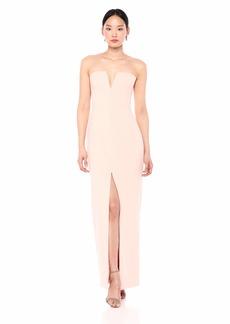 BCBG Max Azria BCBGMax Azria Women's Strapless Notch V Gown