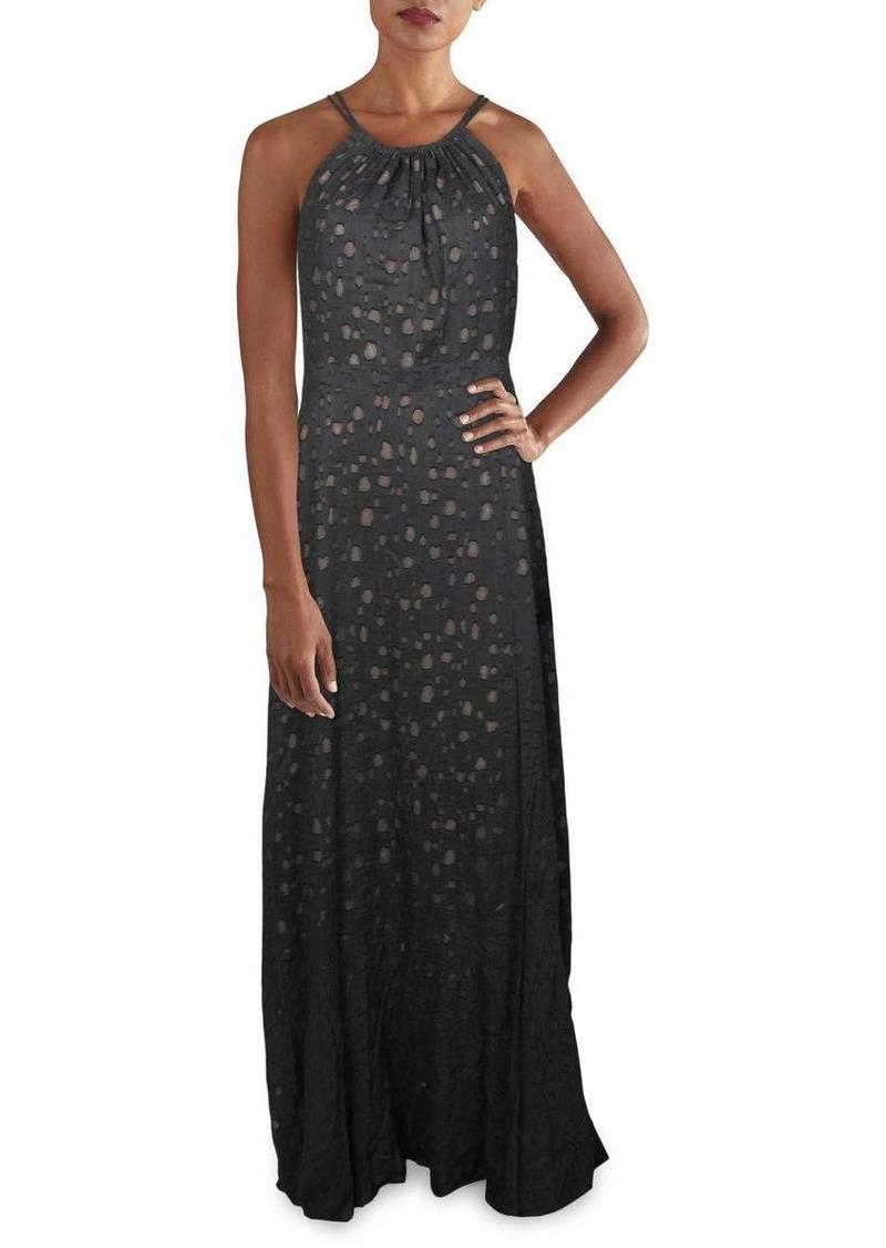 BCBG Max Azria BCBGMax Azria Women's Strappy Dotted Maxi Dress