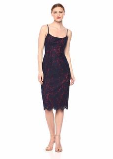 BCBG Max Azria BCBGMax Azria Women's Strappy Lace Sheath Dress