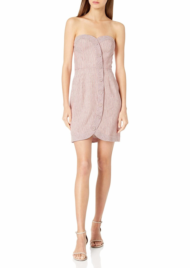 BCBG Max Azria BCBGMax Azria Women's Striped Bustier Dress