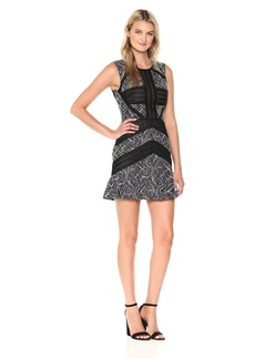 BCBG Max Azria BCBGMax Azria Women's Tasha Sleevless Lace Knit Dress
