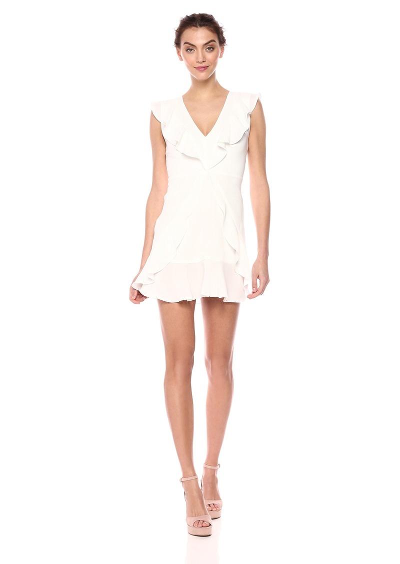 BCBG Max Azria BCBGMax Azria Women's Tyrah Sleeveless Ruffle Dress