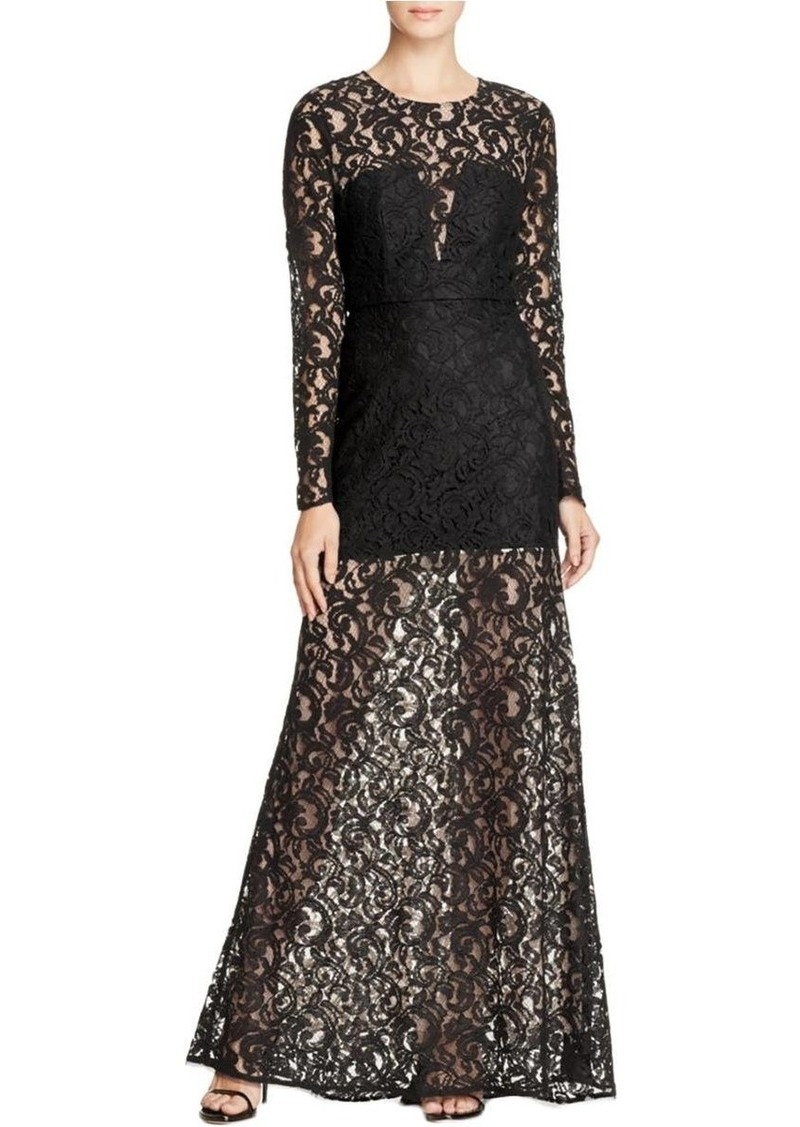 BCBG Max Azria BCBGMax Azria Women's Veira Knit Evening Dress