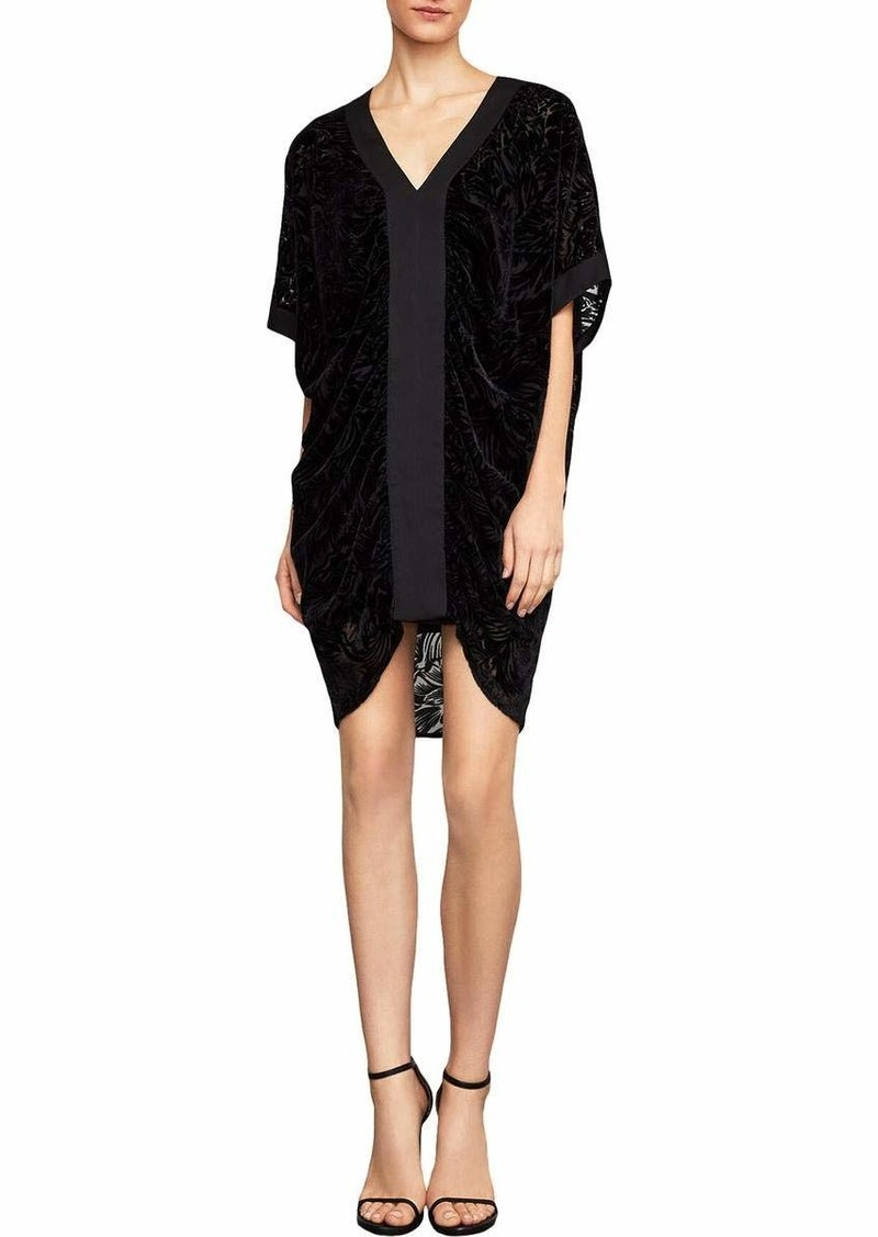 BCBG Max Azria BCBGMax Azria Women's Velvet Burnout Shift Dress  XS