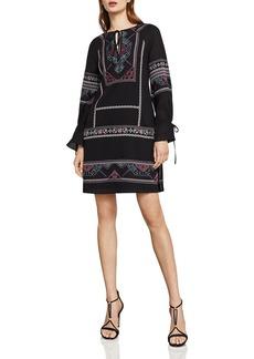 BCBG Max Azria BCBGMAXAZRIA Aicha Embroidered Shift Dress