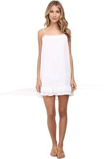 BCBGMAXAZRIA Aisha Ruffle Hem Dress