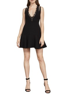 BCBG Max Azria BCBGMAXAZRIA Alai Lace-Trimmed Dress