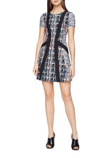 BCBGMAXAZRIA Aleah Paisley Print Dress