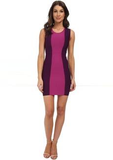BCBGMAXAZRIA Aliza Color Block Power Dress