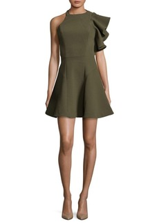 BCBGMAXAZRIA All I Need Halter Dress