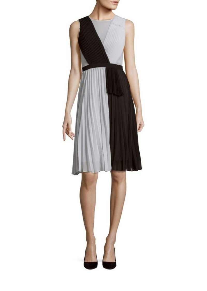 BCBG Max Azria BCBGMAXAZRIA Alternating Colorblocked Dress