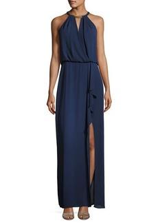 BCBG Max Azria BCBGMAXAZRIA Amanda Plate Collar Evening Gown