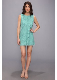 BCBG Max Azria BCBGMAXAZRIA Amelie Sleeveless Lace Drape Dress