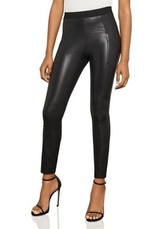 BCBG Max Azria BCBGMAXAZRIA Andrei Faux-Leather Leggings