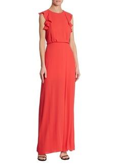 BCBGMAXAZRIA Angelika Ruffled Gown