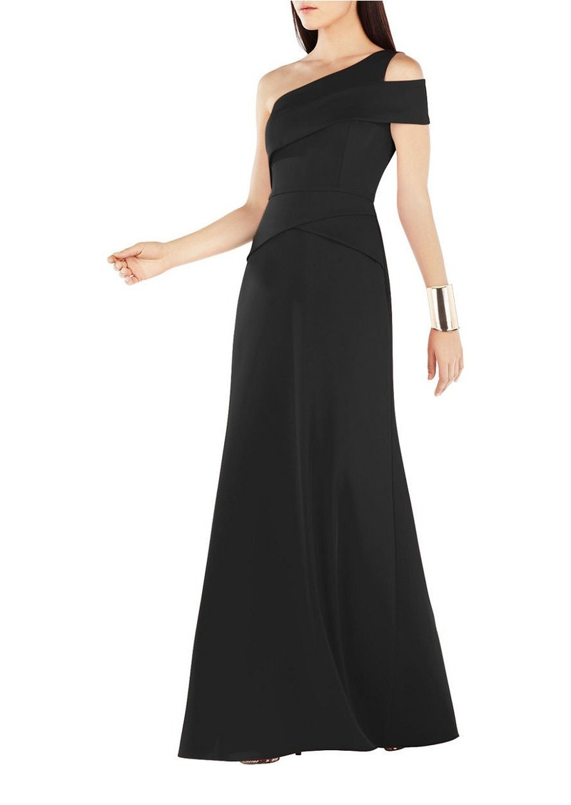 Bcbgeneration black one shoulder dress