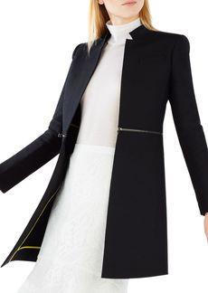 BCBG Max Azria BCBGMAXAZRIA Arelia Zip Waist A-Line Essential Jacket