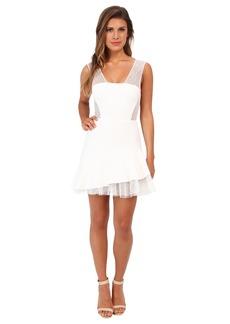 BCBGMAXAZRIA Ariana Asymmetrical Hem Dress