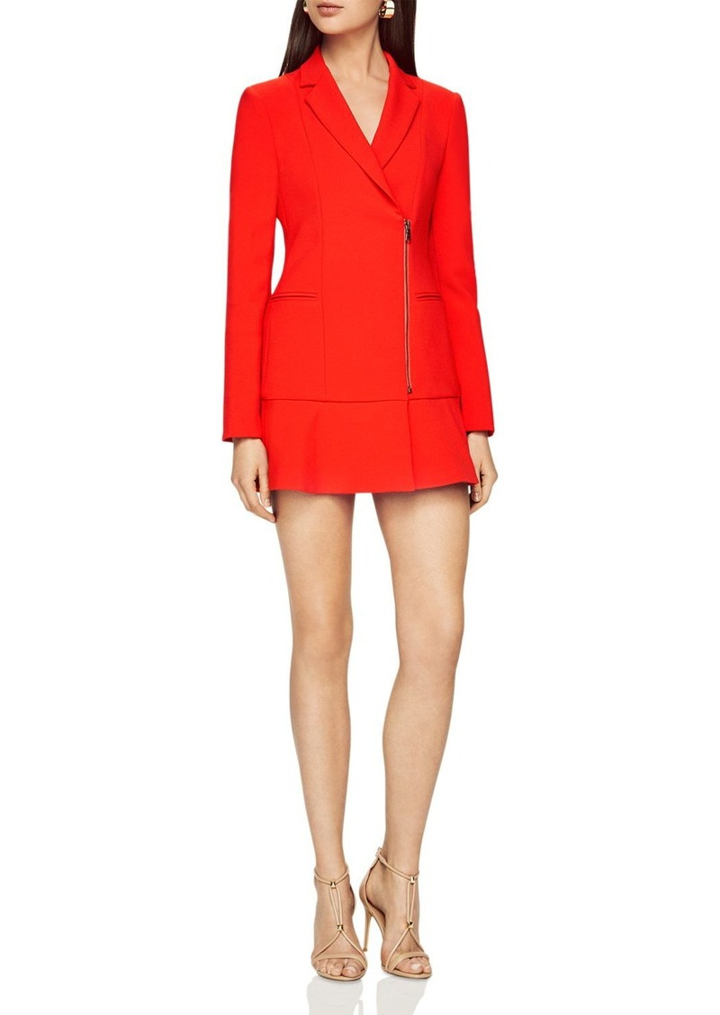 Bcbg Max Azria Bcbgmaxazria Aryn Zip Front Jacket Dress