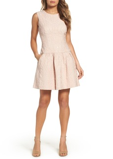 BCBGMAXAZRIA Ashlie Fit & Flare Dress
