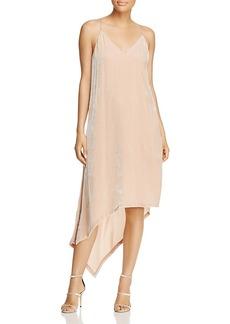 Bcbgmaxazria Asymmetric Velvet Dress