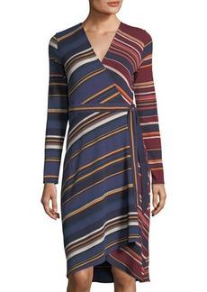 BCBG Max Azria BCBGMAXAZRIA Asymmetric Wrap Dress