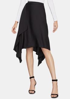 BCBG Max Azria Bcbgmaxazria Asymmetrical Midi Skirt